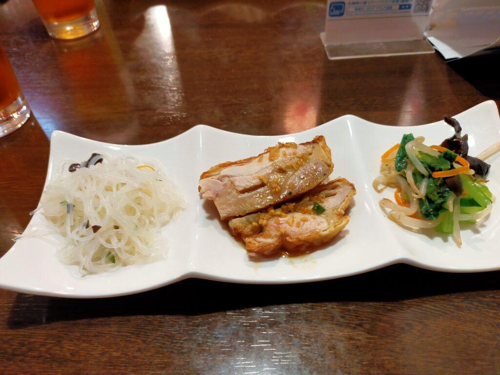 媽媽厨房の昼ランチ前菜