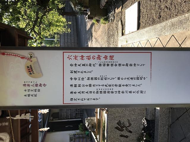 六所神社の由来