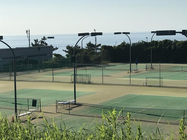 大磯プリンスホテルテニスコート