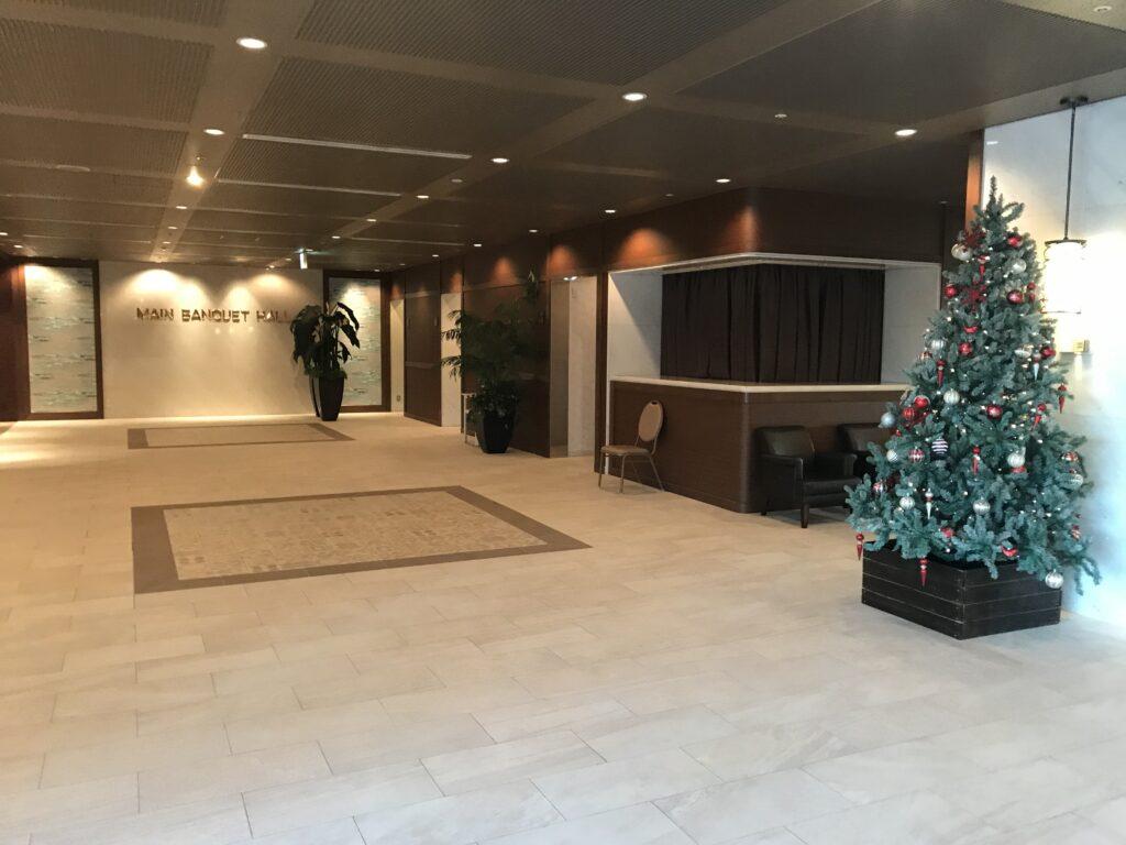 大磯プリンスホテル内