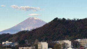 大磯プリンスホテル富士山