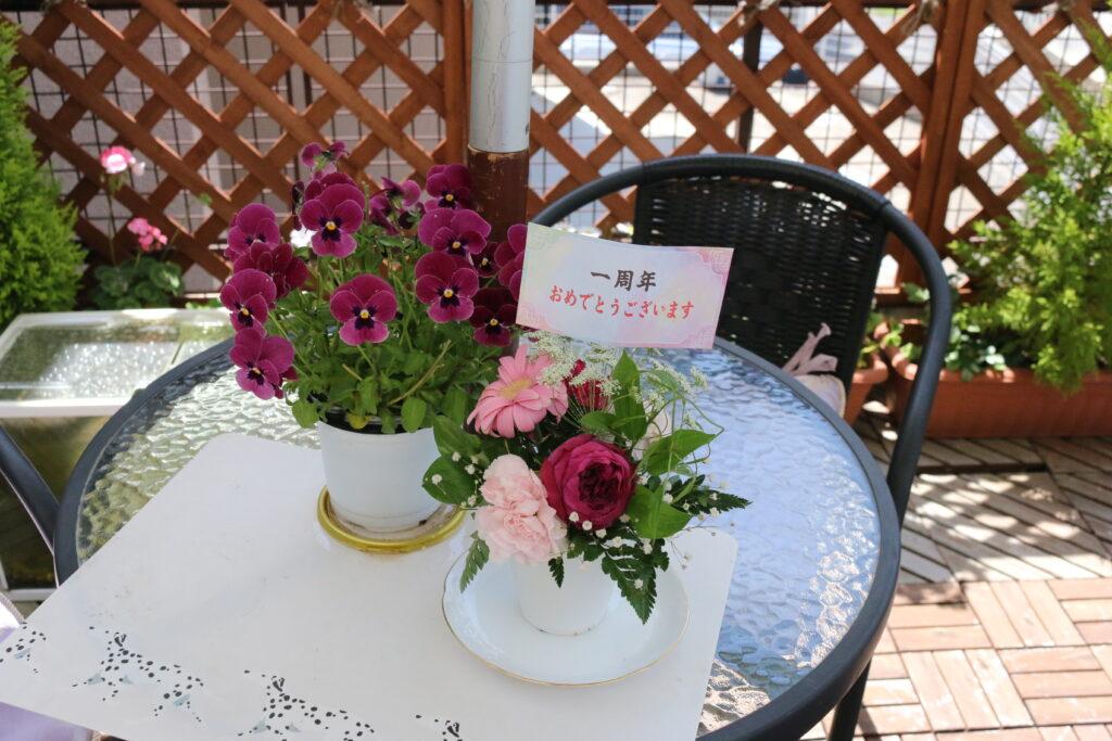 大磯落語茶屋のお花14