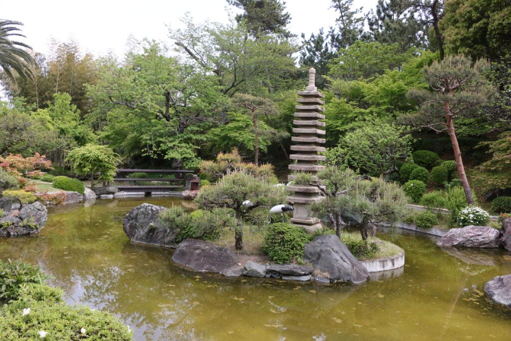 旧吉田茂邸池